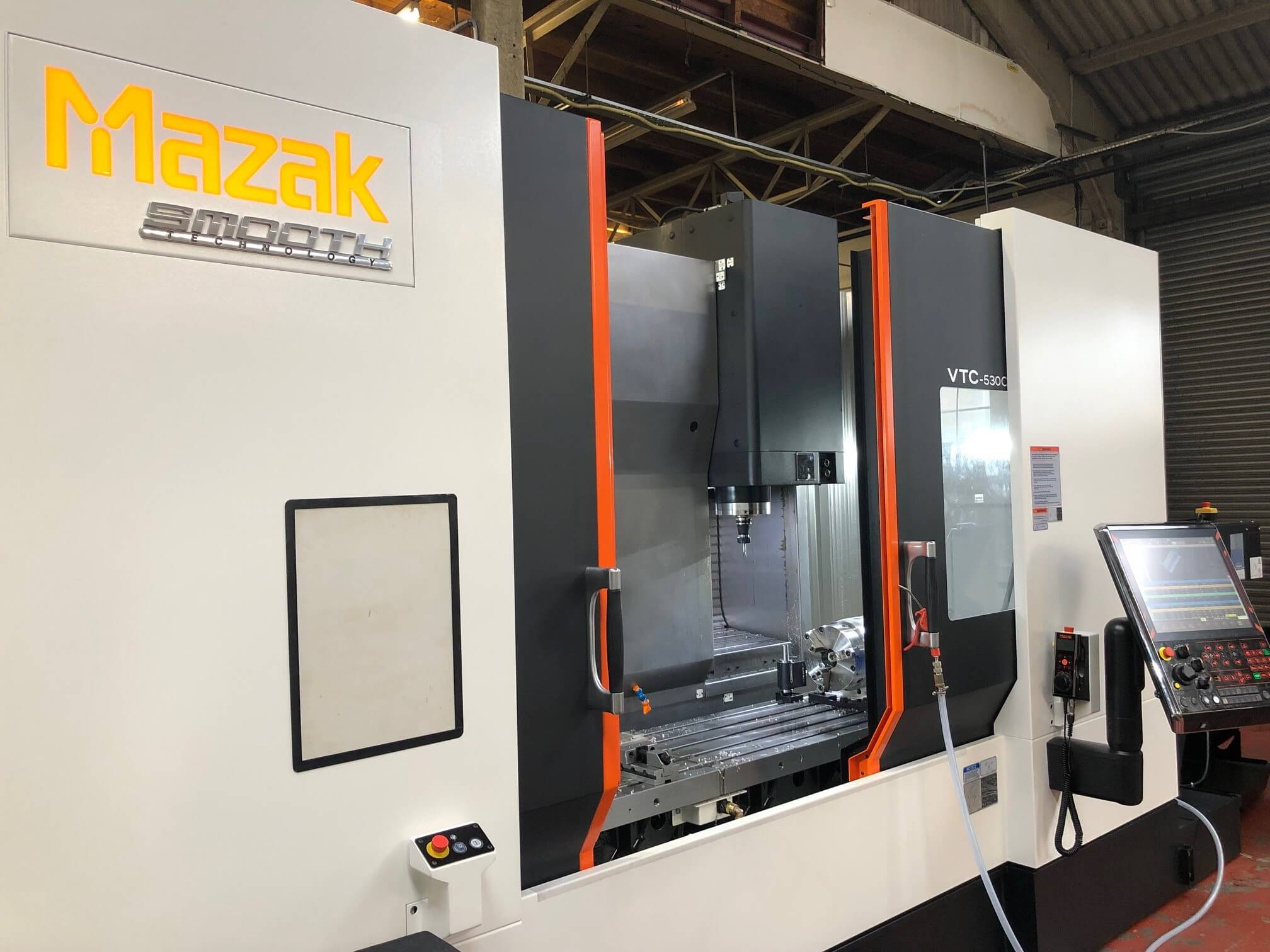 Truturn Engineering Partnership with Mazak